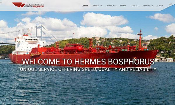 Hermes Bosphorus Corporate web site